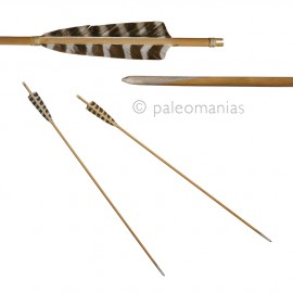 Flecha punta madera