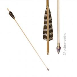 Flecha punta sílex