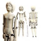 Muñeca romana (pupa) vestal Cossinia