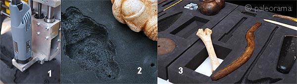 paleomanias mecanizado 3d CNC arqueologia