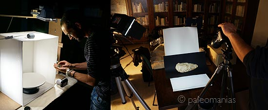 paleomanias fotogrametria prototipos digitales arqueologia