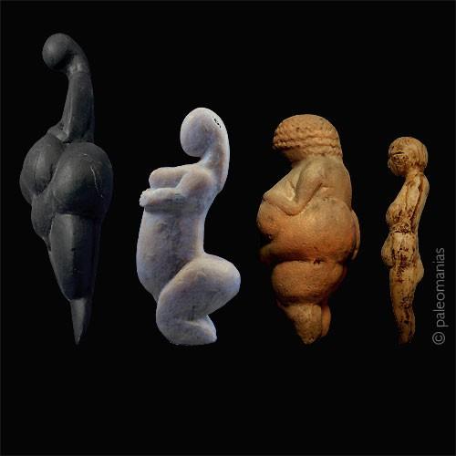 Paleolithic venus figurines