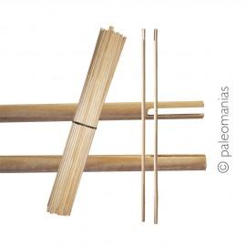 Astiles madera taller flechas