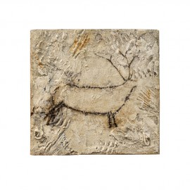 Cuadro ciervo cueva Chimeneas