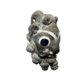 Phoenician glass head pendant2
