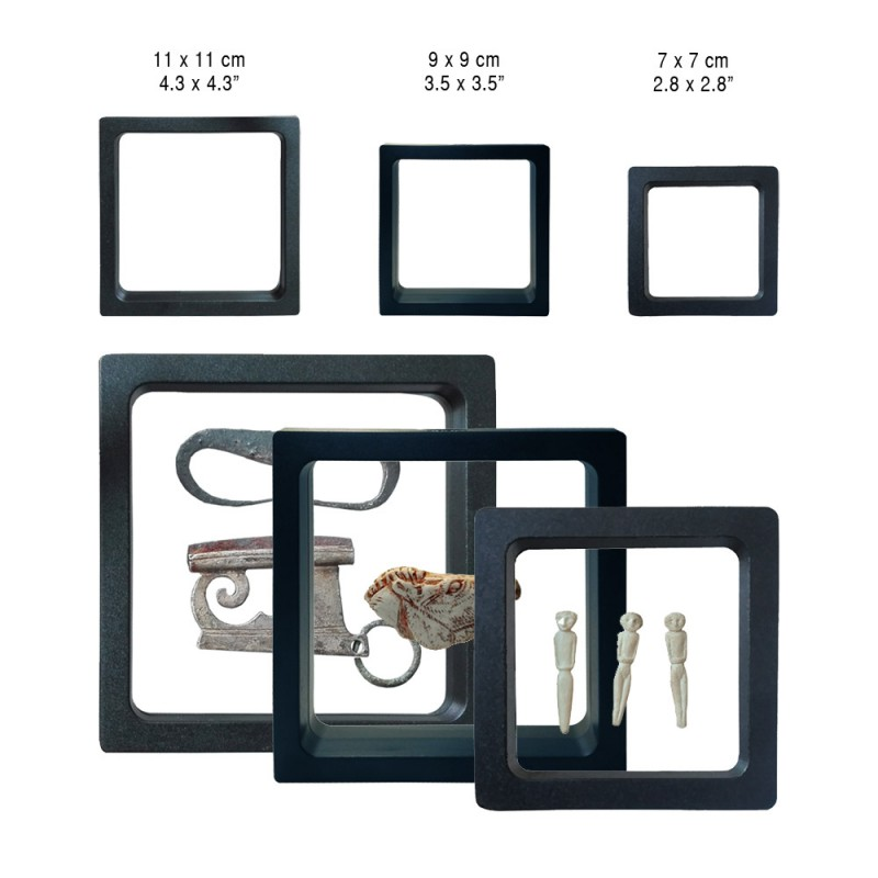 Display3d frame marco 3d almacenar y presentar objetos reducidos