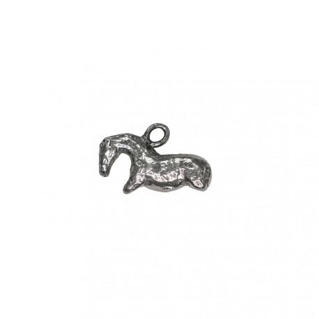 Colgante caballo Vogelherd plata