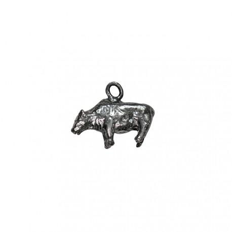 Colgante bisonte Zaraysk plata