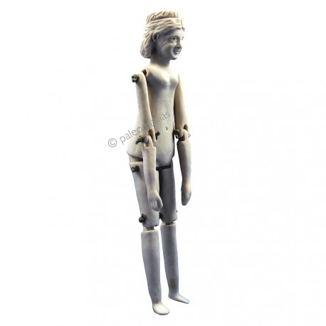 Ancient ivory roman doll from Tarraco