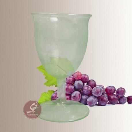 Copa romana de vidrio