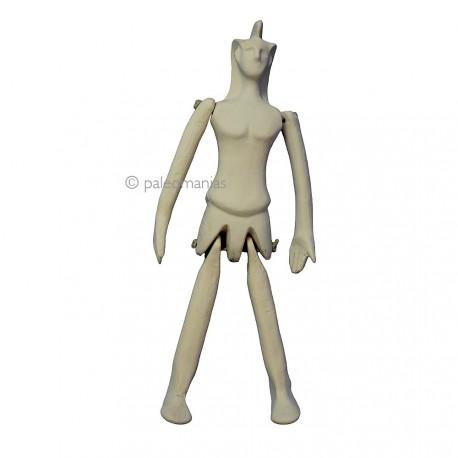 Muñeca articulada griega
