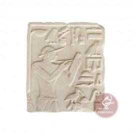 Escayola escriba egipcio