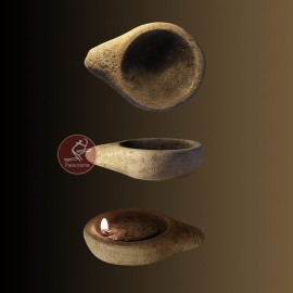 Lámpara paleolítica de La Mouthe