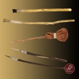 Pinceles prehistóricos
