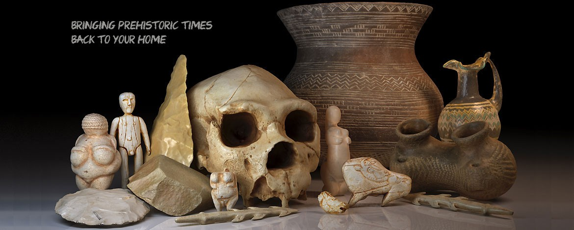 Artifacts casts and reproductions